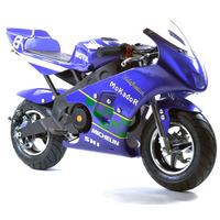 Image of FunBikes MT4A 50cc 46cm Purple Mini Moto Racing Bike