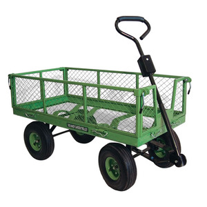 Handy Four Wheel Garden Trolley Cart (350kg load) (THGTLARGE) Click to verify Price 94.00