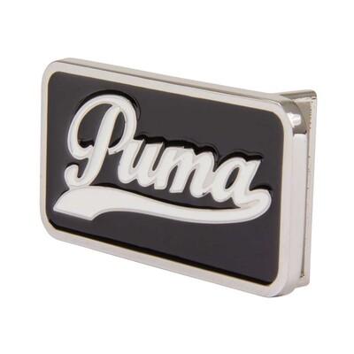 Puma Script Fitted Golf Belt Buckle Black AW15