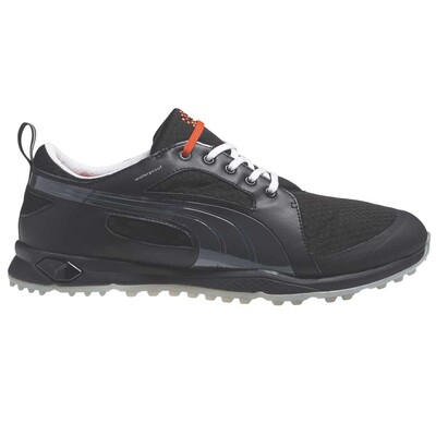Puma BioFly Mesh Golf Shoes Black Silver AW15