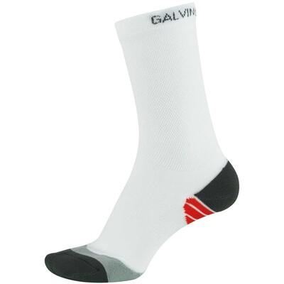 Galvin Green Golf Socks Soft Crew White AW16
