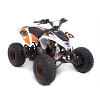 Image of EGL Madmax 110cc White Kids Sports Quad Bike