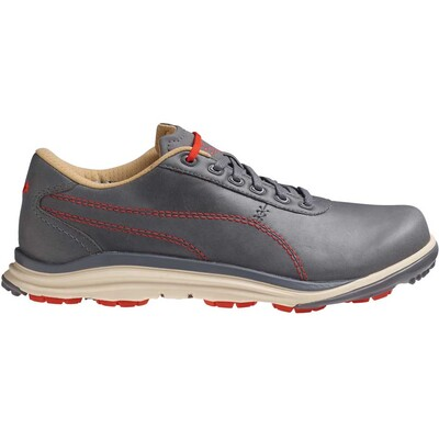Puma BioDrive Leather Golf Shoes Steel Orange AW15