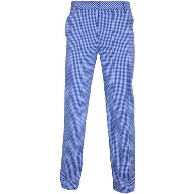 Puma Plaid Tech Golf Trousers Sodalite Blue AW15
