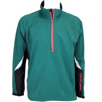 Galvin Green Alvin Waterproof Golf Jacket Racing Green-Black