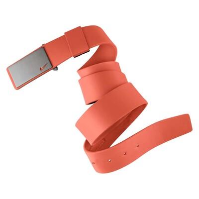 Nike Sleek Plaque Golf Belt Electro Orange AW15