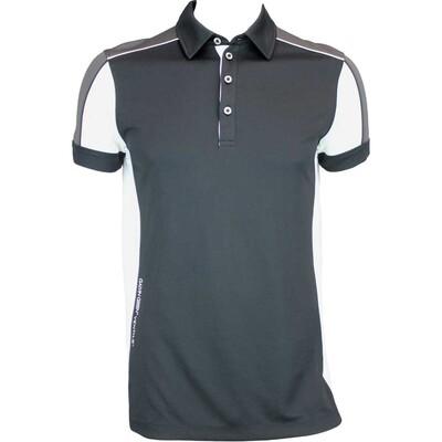 Galvin Green Manning Ventil8 Golf Shirt Black White AW15