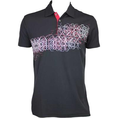 Galvin Green Mel Golf Shirt Black AW15