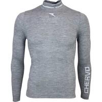 Cherv242 Timoteo Pro Therm Golf Base Layer Shirt Grey AW15