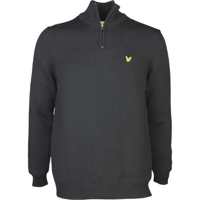 Lyle Scott Golf Jumper Alder Lined True Black AW16