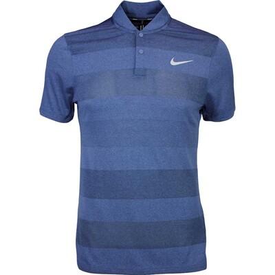 Nike Golf Shirt MM Fly BLADE Stripe Midnight SS16