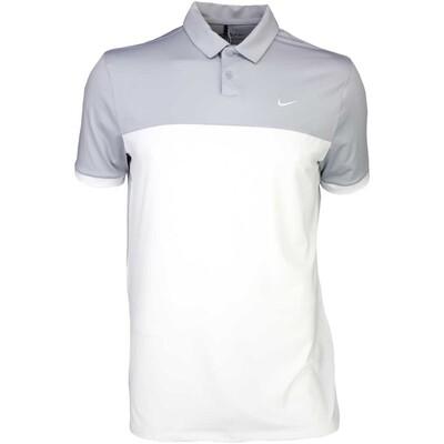 Nike Golf Shirt Icon Colour Block Wolf Grey SS16