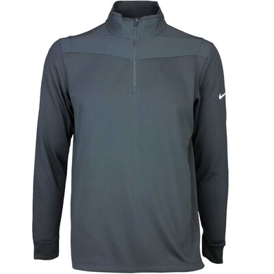 Nike Golf Pullover Dri Fit Half Zip Black SS16