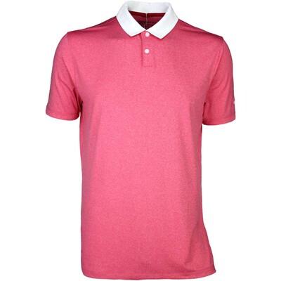 Nike Golf Shirt Icon Heather Light University Red SS16