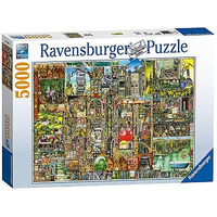 Image of Ravensburger Colin Thompson - Bizarre Town, 5000pc Jigsaw Puzzle