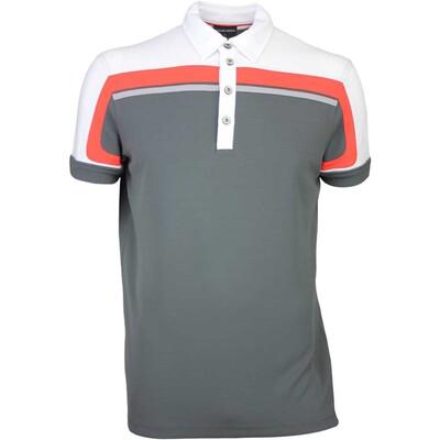 Galvin Green Golf Shirt MACOY Ventil8 Iron Grey SS16