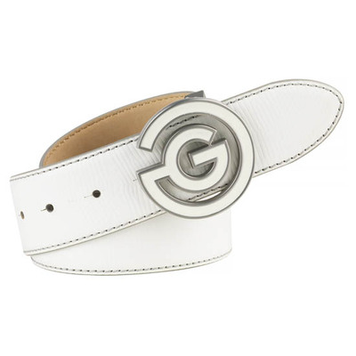 Galvin Green Golf Belt WESLEY Leather White AW17