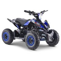 FunBikes Toxic 800w Black/Blue Kids Electric Mini Quad Bike V2