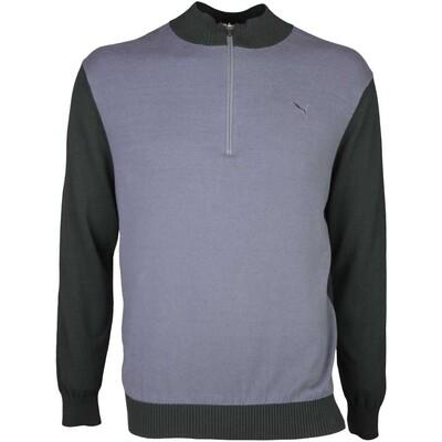 Puma Golf Jumper Tailored Zip Block Black SS16