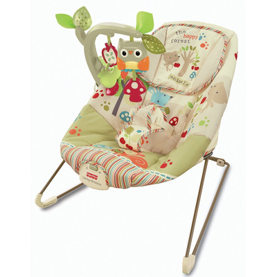 Fisher-Price Woodsy Friends Comfy Time Bouncer
