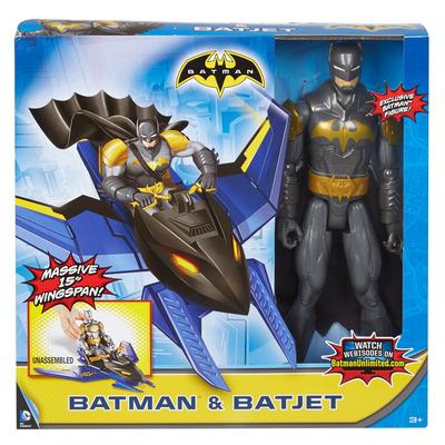 Batman Unlimited: Flight Mission Batman Figure