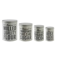 Mason Cash Baker Lane Set Of 4 Baking Storage Tins