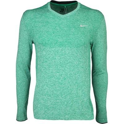 Nike Golf Jumper Flex Knit V Neck Lucid Green SS16