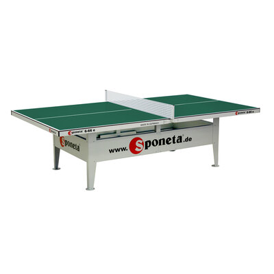 Sponeta Activeline Outdoor Table Tennis Table - Green