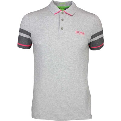 Hugo Boss Golf Shirt 8211 Paule Pro 1 Grey Melange PF16