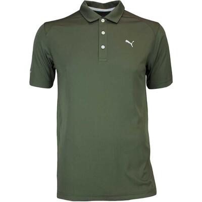 Puma Golf Shirt Cobra Branded Pounce Forest Night AW16