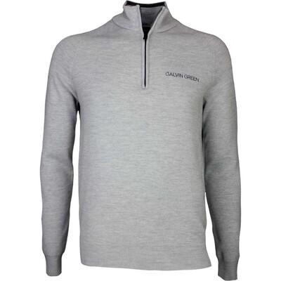 Galvin Green Golf Jumper CHARLES Tour Light Grey AW17