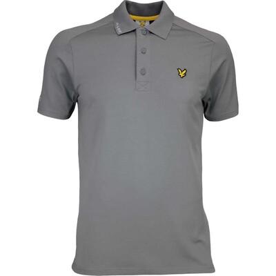 Lyle Scott Golf Shirt Hawick Tech Tour Slate SS17