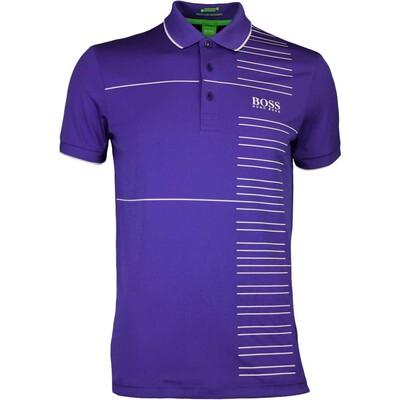 Hugo Boss Golf Shirt Paddy Pro 2 Clematis Blue FA16