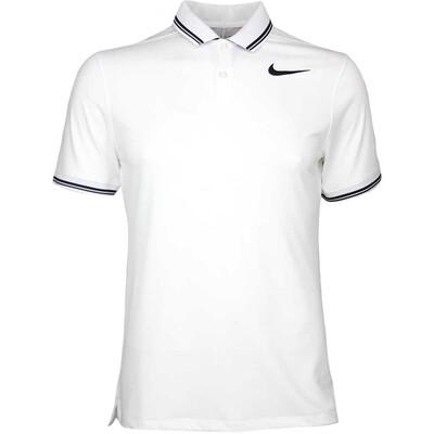 Nike Golf Shirt NK Dry Tipped White AW17