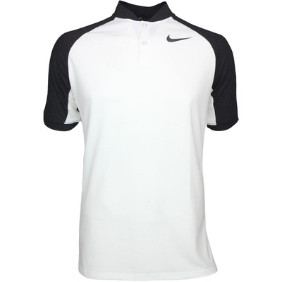 Nike Golf Shirt NK Dry Raglan Blade White Black AW17