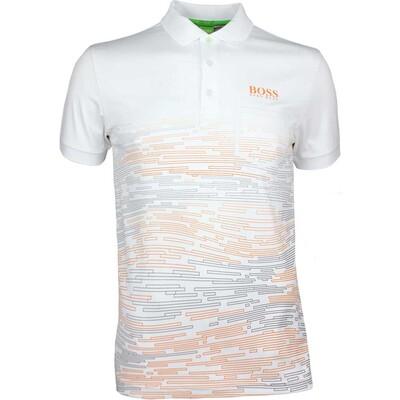 Hugo Boss Golf Shirt Paule Pro 2 Training White SP17