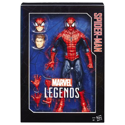 Marvel Legends Series Spider Man Figure, 12 Inch