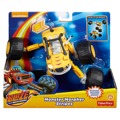 Blaze And The Monster Machines Transmorphers Stripes