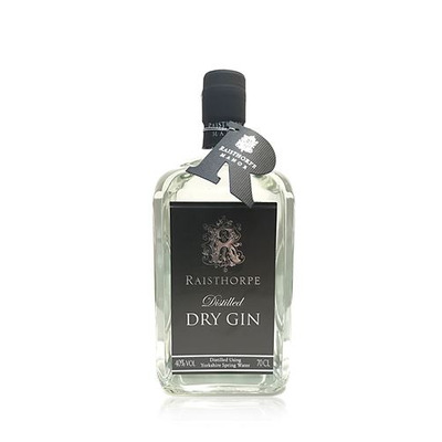 Raisthorpe Distilled Dry Gin 70cl
