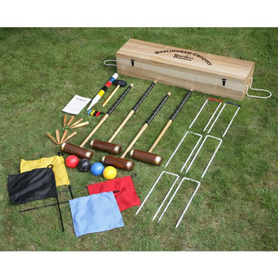 Garden Games Hurlingham Croquet Set (Code 2102)