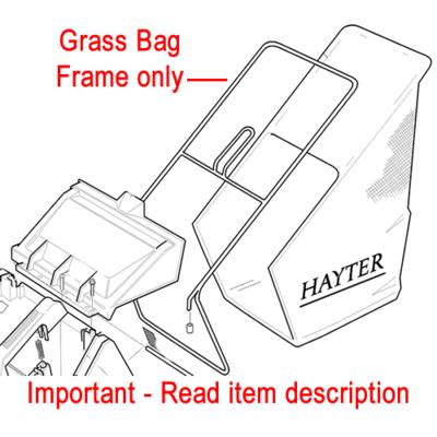 Hayter Hayter Grassbag Frame Harrier 41 305105W