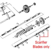 Weibang WB487CRB Scarifier Blades Set  (28 blades) 46R0306010/04