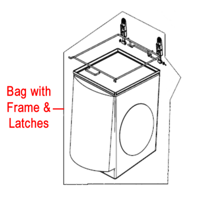 Billy Goat Billy Goat Standard Bag with Frame & Latches 840195