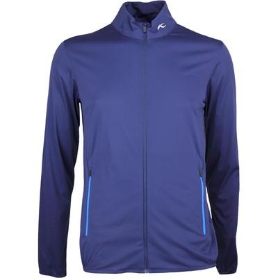 KJUS Windbreaker Golf Jacket DORIAN Atlanta Blue SS17