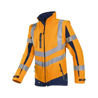 Malden 724 High Vis Orange Soft Shell Jacket