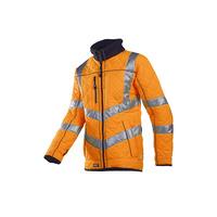 Image of Castor 725 Quilted High Vis Orange Jacket