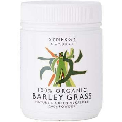 Synergy Natural Organic Barley Grass Powder 200g