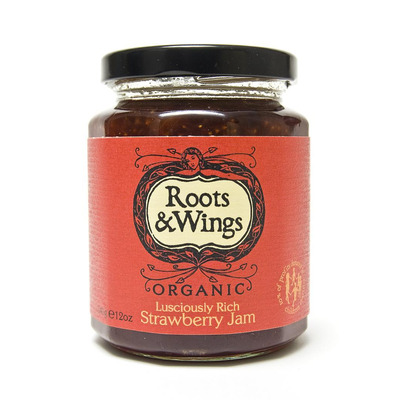 Roots & Wings Organic Strawberry Jam 340g