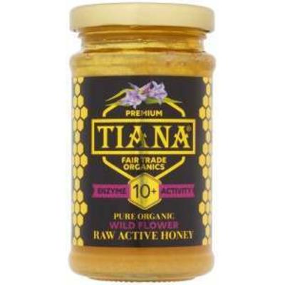 Tiana Organic Fair Trade Raw Active Flower Honey 250g