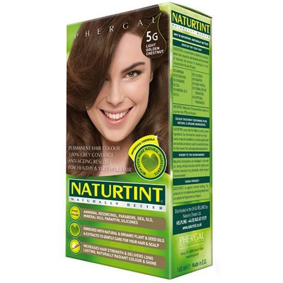 Naturtint Permanent Natural Hair Colour 5G Light Golden Chestnut 170ml
